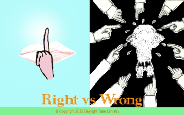 Right vs Wrong