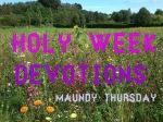 Holy Week Devotions: In God'sKingdom