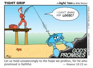 Tight Grip - Hebrews 10:23