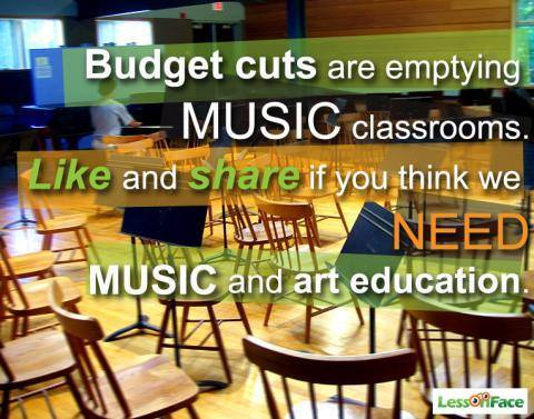 music pic about budget cuts
